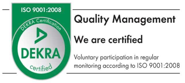 DEKRA Certification 1